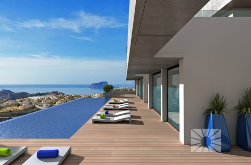 Blue Infinity cumbre del Sol – Costa Blanca – Apartamento