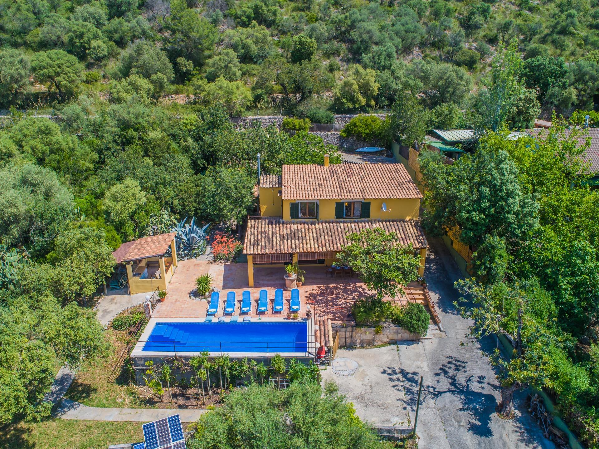 Alcudia Mallorca Villa mit Mietlizenz